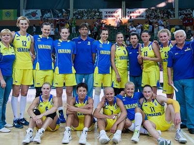 Женская сборная Украины вышла на Евробаскет