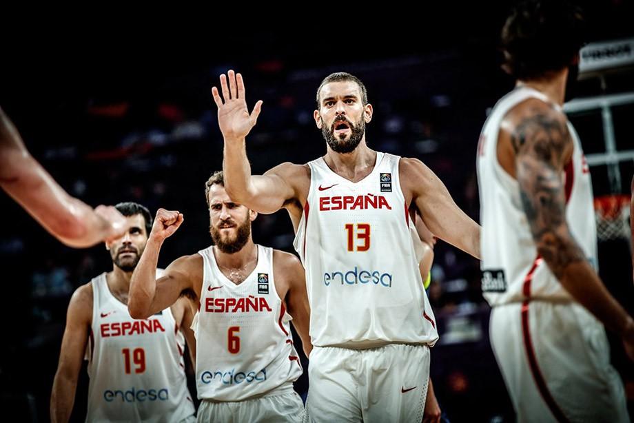 Сборная Российской Федерации  проиграла команде Испании вматче забронзу Евробаскета