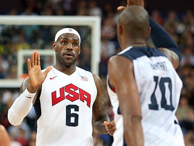 Лондон-2012. Баскетбол. Леброн Джеймс