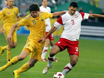 Сегодня Польша примет в Варшаве сборную Украины