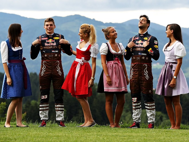 Обзор соцсетей пилотов и команд Формулы-1 на Гран-при Австрии