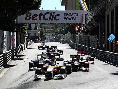Хронометр: Гран-при Монако