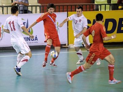 Мини-футбольный Гран-при. Россия - Иран