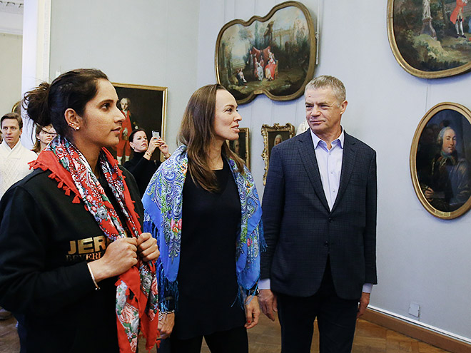 Мирза, Хингис и Медведев