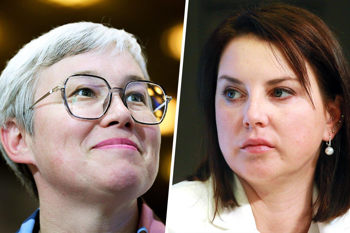 Ирина Слуцкая и Тамара Тансыккужина