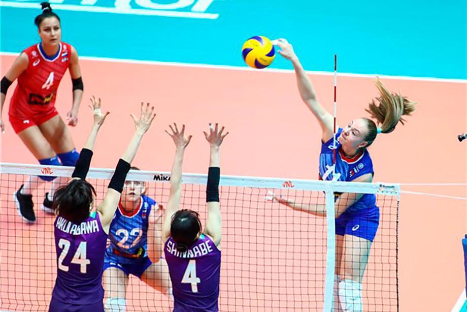 Россия проиграла Японии на втором этапе Лиги наций, обзор матча