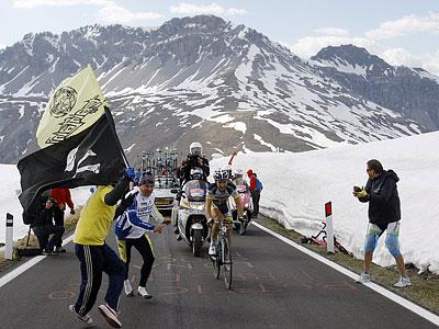 Легендарные горы «Джиро д'Италия»