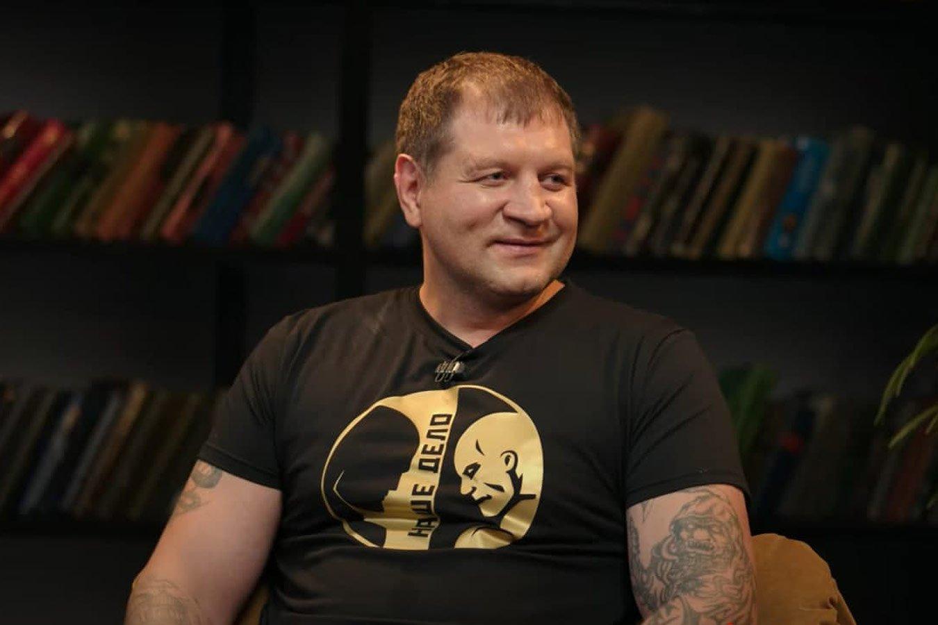 Александр Емельяненко: Джиган  толстый, жирный, пьёт пиво вёдрами
