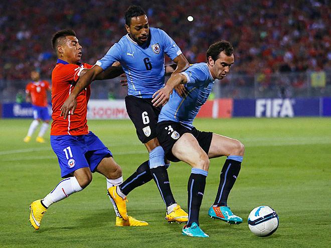 Прогноз на матч Чили - Уругвай