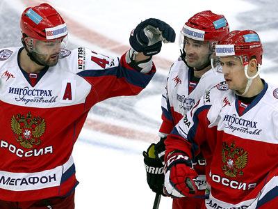 Сборная России обыграла финнов по буллитам