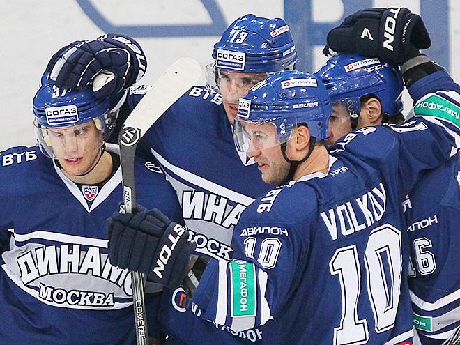 «Динамо» выиграло у ХК «Сочи» – 3:0