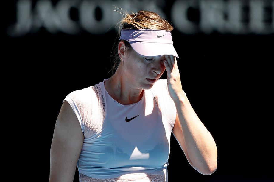 У Шараповой снова травма. Сможет ли она сыграть в Австралии и Санкт-Петербурге?