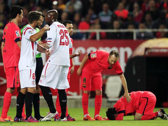 «Севилья» – «Барселона» – 2:2. Обзор матча