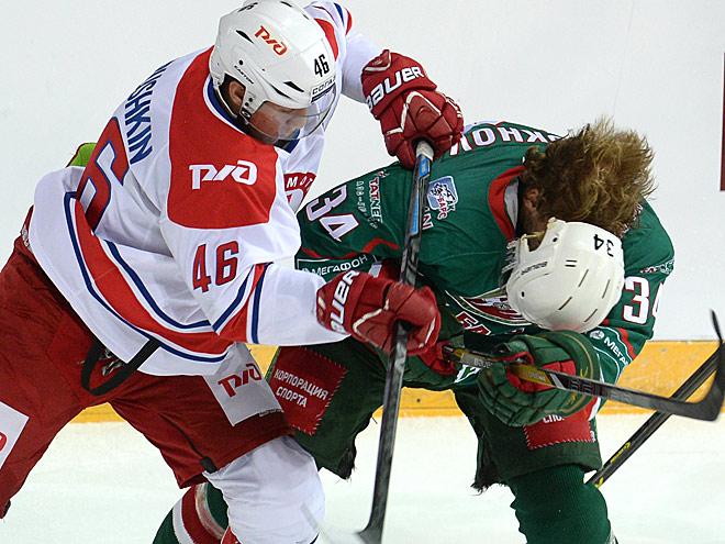 «Ак Барс» — «Локомотив» — 4:2