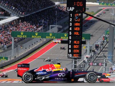 Себастьян Феттель выиграл Гран-при США Формулы-1