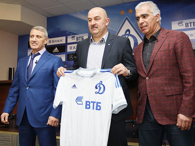 Борис Ротенберг, Станислав Черчесов и Гурам Аджоев