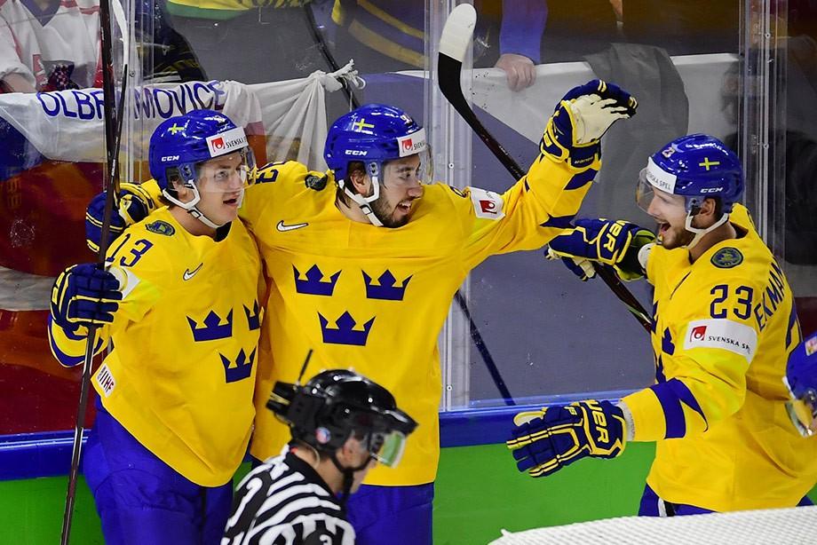 ЧМ-2018. Швеция – Чехия – 3:1