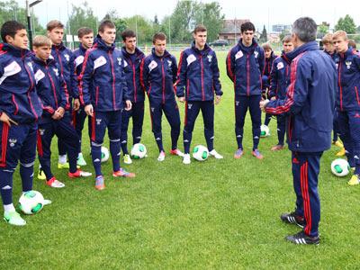 Юношеская сборная в полуфинале Евро U17