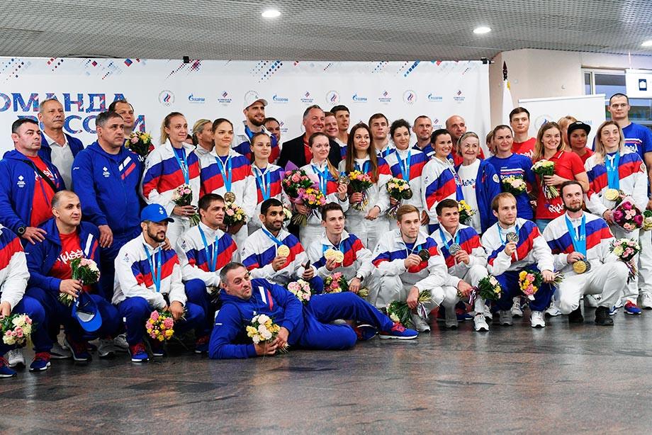 На Европейских играх России вернули флаг и гимн