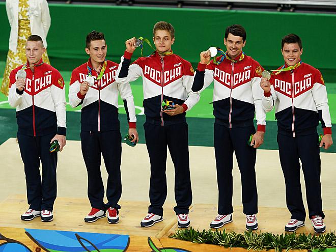 Олимпиада-2016. Российские гимнасты завоевали медаль спустя 16 лет