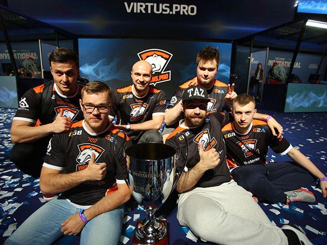 Virtus.pro победила на турнире DreamHack Bucharest по CS:GO