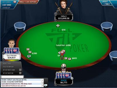 Ажиотажный трафик на Full Tilt Poker