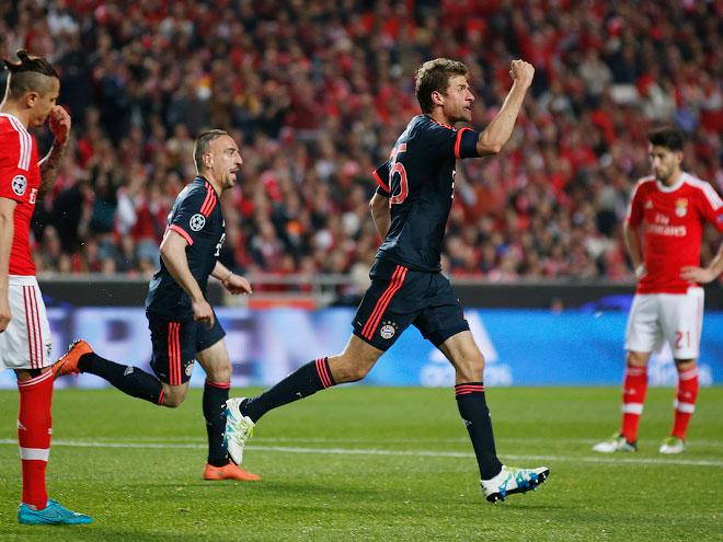 Бенфика бавария 13 апреля 2016 футбол 1