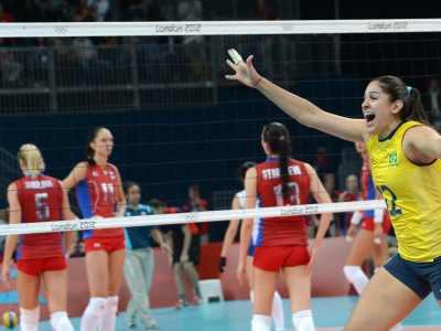 Лондон-2012. Волейбол. Россия проиграла Бразилии