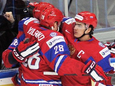 Сборная России выиграла у Германии – 7:0