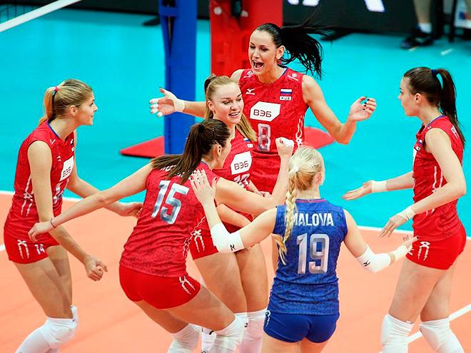 Волейболистки сборной России обыграли Сербию — 3:1
