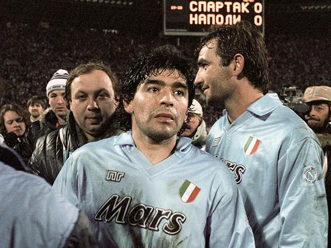 Диего Марадона. 1991-й год