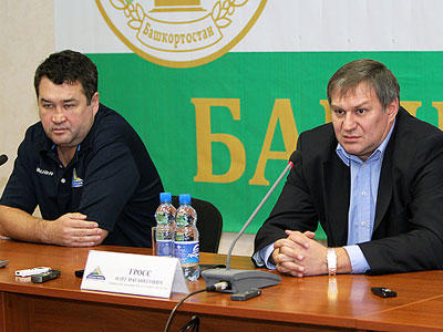 Комментарии Олега Гросса и Венера Сафина перед стартом чемпионата КХЛ