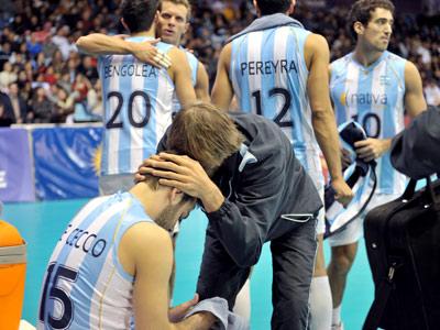 Очередное поражение аргентинцев