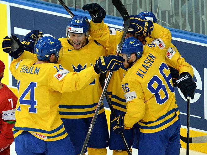 Швеция обыграла Белоруссию – 3:2