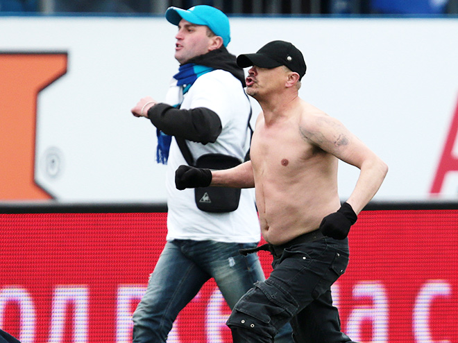 Фанаты напали на Владимира Граната