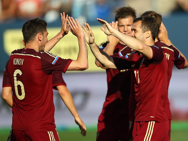 Сборная России обыграла команду Словакии
