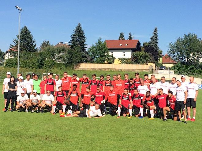 Репортаж с тренировки «Спартака» на сборе в Австрии