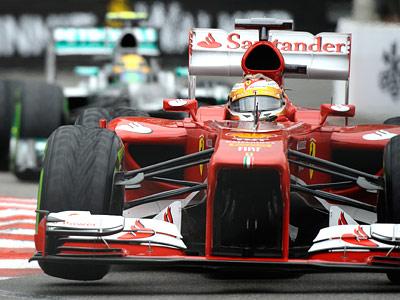 Планы команд Формулы-1 были подпорчены непогодой