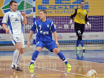 «Норильский Никель» и «Динамо» сыграли вничью в футзальной Суперлиге