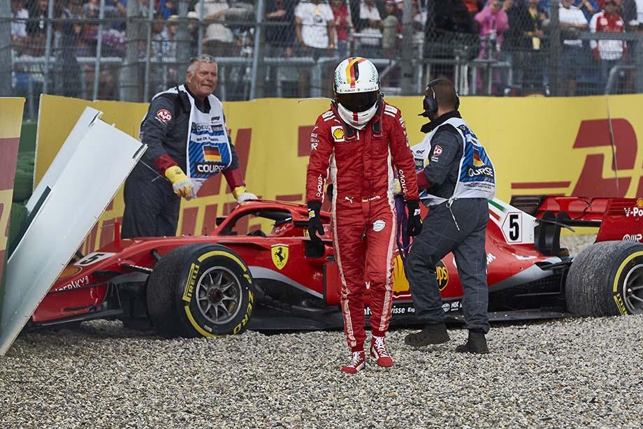 Супермотор «Феррари» от ошибки не спасёт. Итоги Гран-при Германии