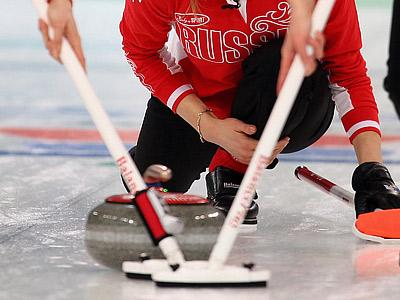 Сборная России выиграла один матч из трёх на ЧМ по кёрлингу