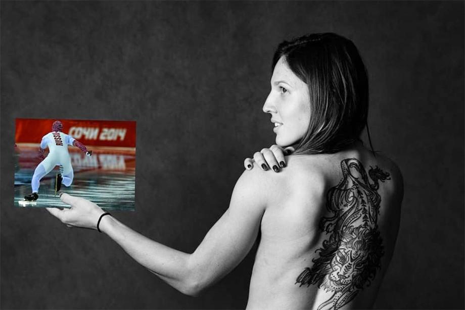 Швейцарские биатлонисты сделали «голое» фото – кто делал то же самое?