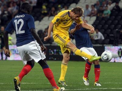 Сборная Украины ещё ни разу не выигрывала у французов