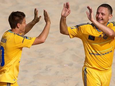 Первый день отбора к ЧЕ по пляжному футболу