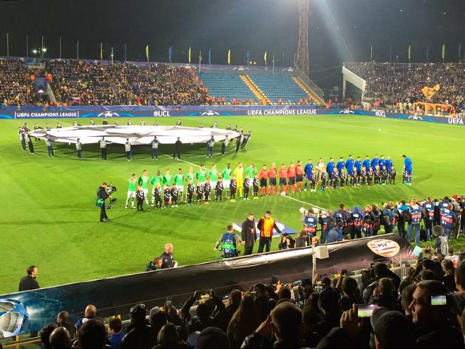 Как «Ростов» принимал ПСВ в Лиге чемпионов: что не показали по ТВ