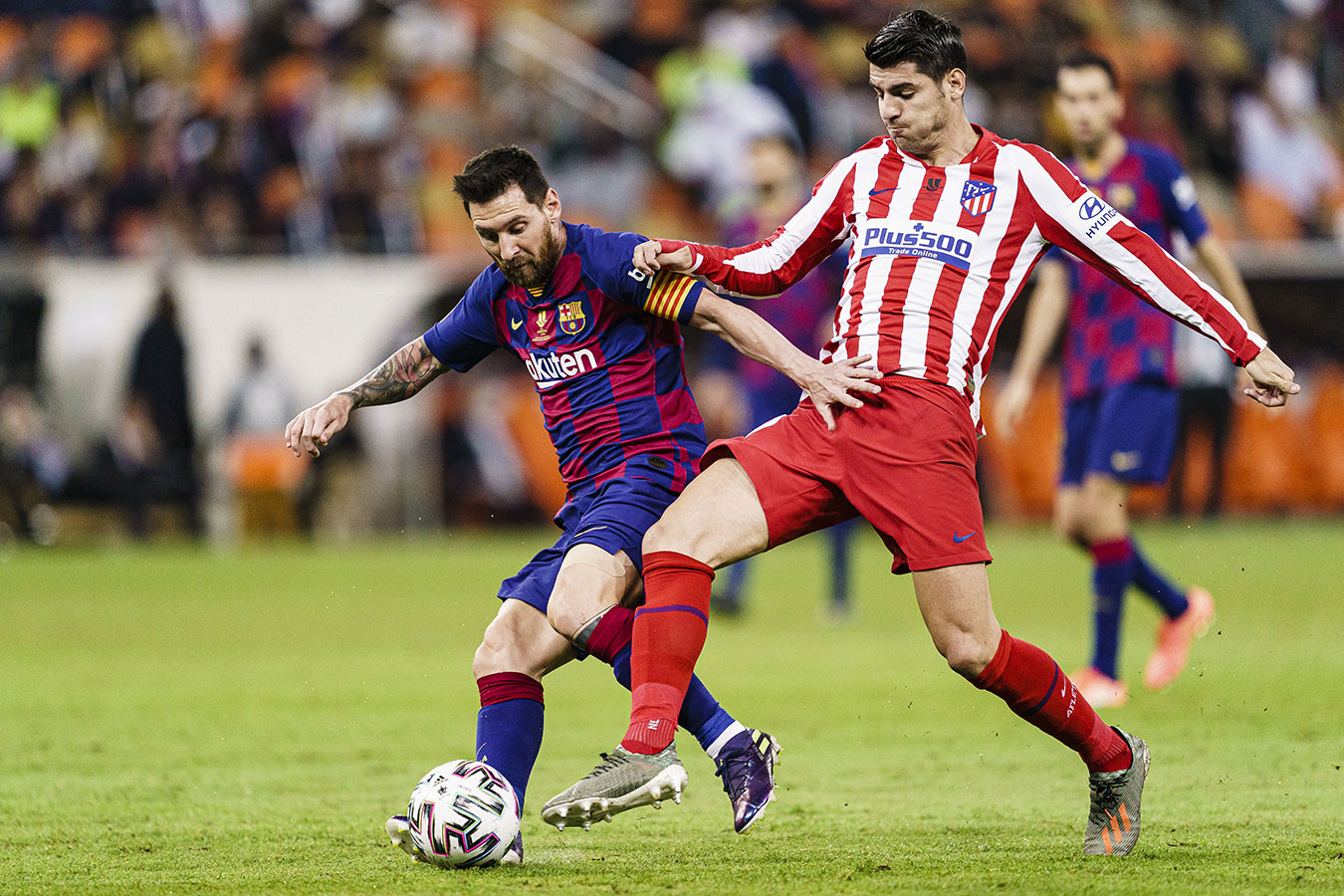 Барселона атлетико мадрид голы месси