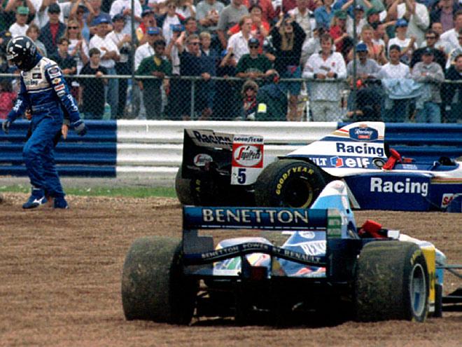Как Шумахер выиграл второй титул