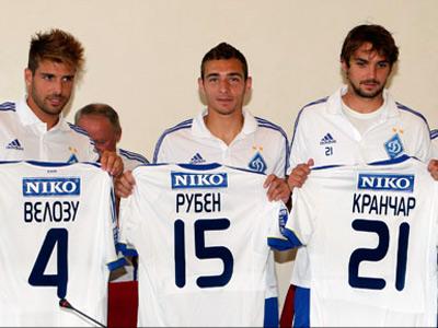 Киевляне представили четверых новичков клуба