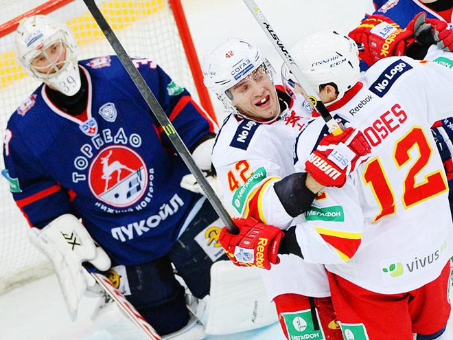 Обзор игрового дня КХЛ. 13.01.2015