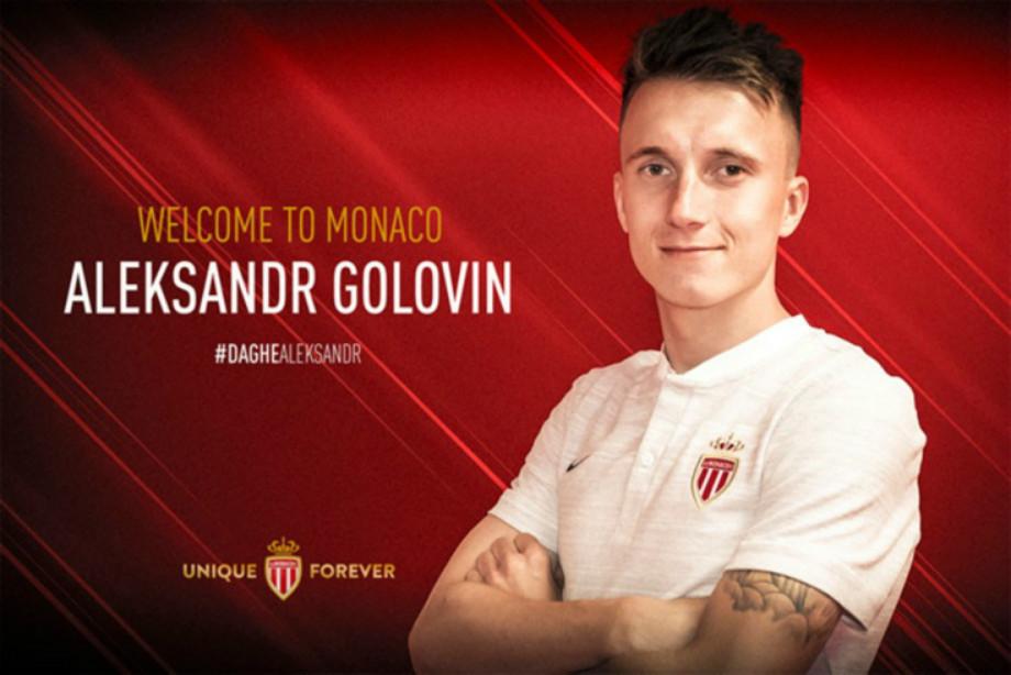 Головин провёл первую тренировку в «Монако». Видео